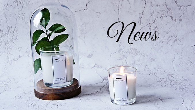 Soy wax scented candle, candles