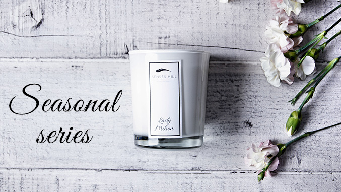 Scented candles soy wax